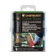 Chameleon Color Tops Nature Tones
