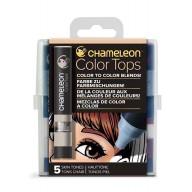 Chameleon Color Tops Skin Tones