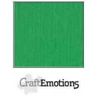 CraftEmotions linnenkarton 10 vel grasgroen LHC-27 A4 250gr