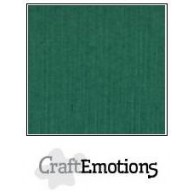 CraftEmotions linnenkarton 10 vel kerstgroen LHC-36 A4 250gr