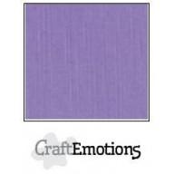 CraftEmotions linnenkarton 10 vel lavendel LHC-20 A4 250gr