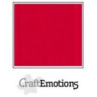 CraftEmotions linnenkarton 10 vel vuurrood LHC-66 A4 250gr
