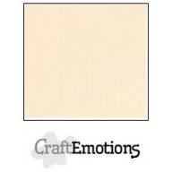 CraftEmotions linnenkarton 10 vel zand LHC-12 A4 250gr