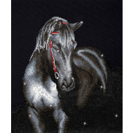 DIAMOND DOTZ® Midnight Stallion DD10.012