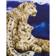 DIAMOND DOTZ Snow Leopards DD12.004