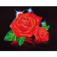 DIAMOND DOTZ Red Rose Sparkle DD5.002