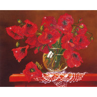 DIAMOND DOTZ Red Poppies DD9.002