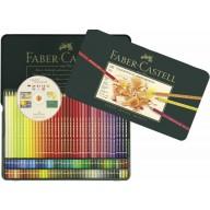 Faber Castell Crayons de couleur Polychromos etui a 120
