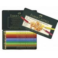Faber Castell Crayons de couleur Polychromos etui a 12