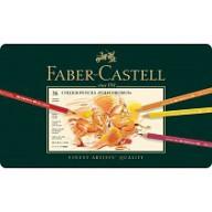 Faber Castell Crayons de couleur Polychromos etui a 36