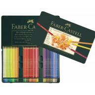 Faber Castell Crayons de couleur Polychromos etui a 60