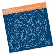 Groovi Plate LINDA'S BUTTERFLIES