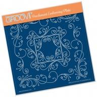 Groovi Plate TINA'S STAR FRAME  A5