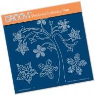 Groovi Plate TINA'S TREE FUN     A5