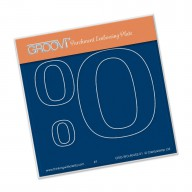 Groovi Plate A6 Open Number 0