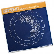Groovi Plate Frilly Circle