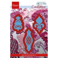 Marianne D Creatables Vintage 3 ornamenten LR0273