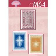 M 64  Patrons grille diagonale