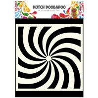Dutch Doobadoo Dutch Mask Art stencil spiral 15x15cm 470.715.600