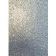 EVA foam vellen 2mm 22x30cm 5 st Zilver glitter 12315-1531