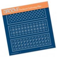 Groovi Plate  GEO LAYERING PANEL  A5