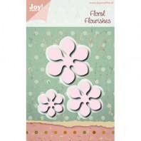 Joy! Die Mery's Floral Flourishes 3 st