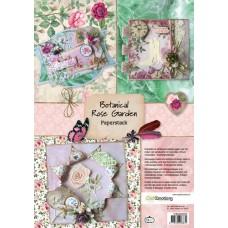 Paperstack Botanical Rose Garden