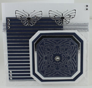 TODO- kaart hot foil techniek