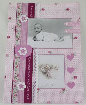 geboorte pagina roze
